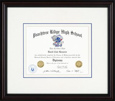 Diploma Framing - Deck The Walls