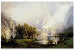 Albert Bierstadt, Art, Decor, Framing, ShopForArt, ShopDeckTheWallsArt.com