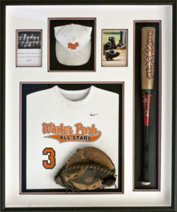 baseball shadowbox